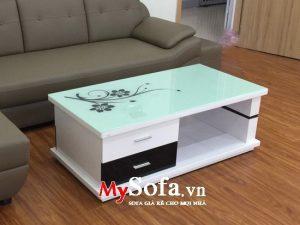bàn sofa gỗ công nghiệp giá rẻ