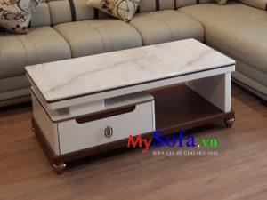 bàn sofa mặt đá đẹp, bàn sofa đẹp sang trọng