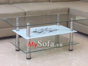 bàn sofa kính giá rẻ