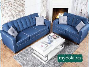 sofa phòng khách đẹp sang trọng