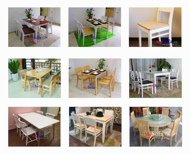 cửa hàng bán bàn ghế ăn đẹp hiện đại