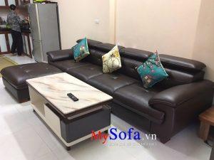 sofa văng da cao cấp
