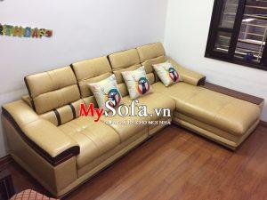 sofa da góc chữ L đẹp tại bắc ninh