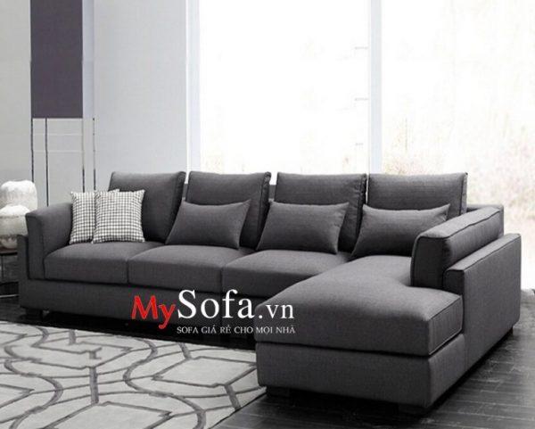 ghế sofa nỉ đẹp hiện đại sang trọng