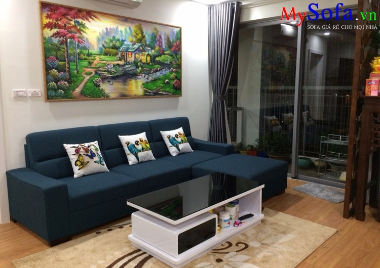 sofa phòng khách chung cư đẹp hiện đại