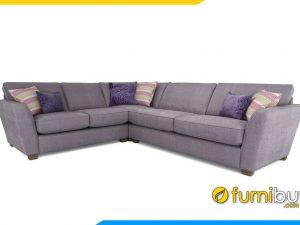 Ghế sofa nỉ dạng góc mã FB20021