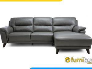 Ghế sofa da cho phòng khách FB20012