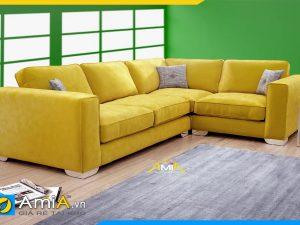 Mẫu ghế sofa góc chữ L đẹp hiện đại mã AmiA 20231